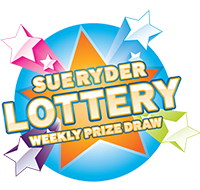 The Sue Ryder Lottery star logo